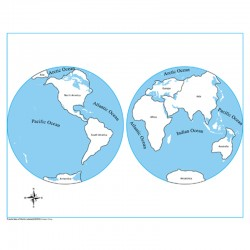 Puzzle harta lumii - harta...